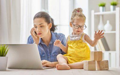 Travailler à domicile lorsque vos enfants ne sont pas à l'école