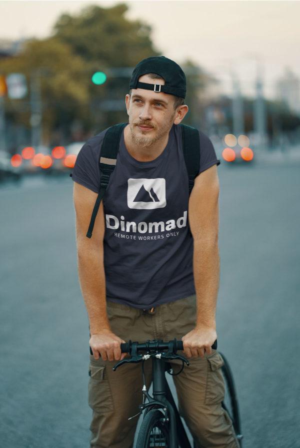 Tee-Shirt Dinomad sur vélo